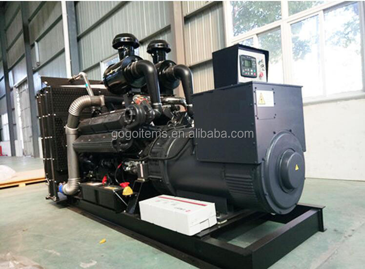 Hot sale AC three phase durable 100kw air cooled water-cooled open or silent 5kva diesel power generator price made in China