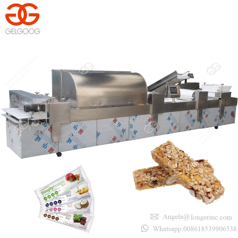 Industrial Automatic Cereal Bar Pressing Making Machine Small Protein Bar Making Machine for Sale