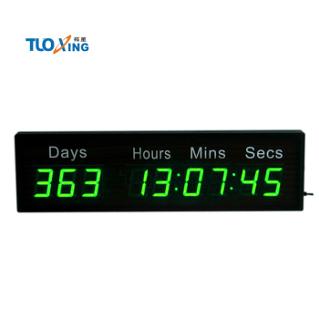 9 digit 2.3 inch event countdown timer days countdown clock