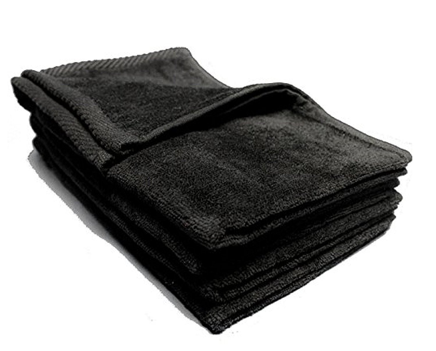 Big Deal! Cotton Terry Towel,BLACK Color,Low Cost Bulk Towels at Wholesale Prices! (24 Count Pack) (24, BLACK)