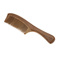 Handmade Natural Sandalwood Wooden Comb Health Care Head Messager Hair Comb Hair Brush