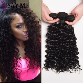 Wet And Wavy Weave Crochet Braids With 10a Brazilian Virgin Human Hair Deep Wave