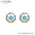 XUPING 97324 Harley Siam Crystals from Swarovski stud simple 18k gold plated women fashion earrings