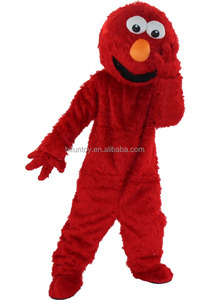 Funtoys CE adult cookie elmo monster mascot costume