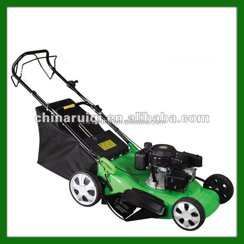 New design 22'' 6.0HP 4 in 1 Self-propelled gasoline lawn mower