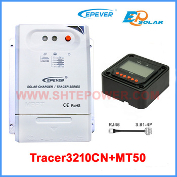 Tracer 3210cn Epever Mppt Solar Charge Controller 12v 24v Auto Work With  Mt50 Meter - Buy 30a Solar Charge Controller,Tracer 3210cn,30a Mppt Sollar