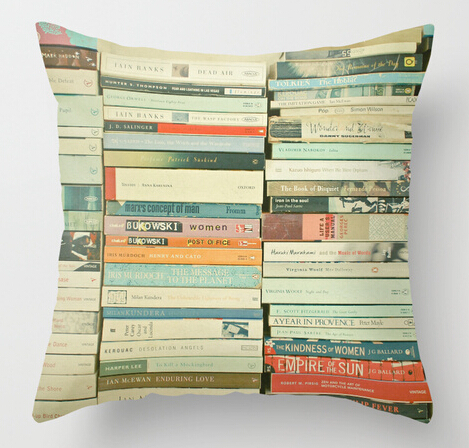 Vintage Bookworm Cozy Simple Home Decor Cushion Covers Customized Throw Pillowcases Amazing Free Shipping Both Sides Printing