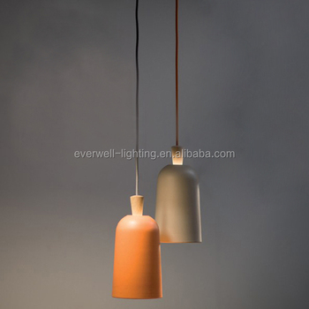 Decoration Lights Modern Wooden Cement Led Chandelier Pendant Light