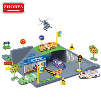 Zhorya kids intelligence series track toy 3D puzzle