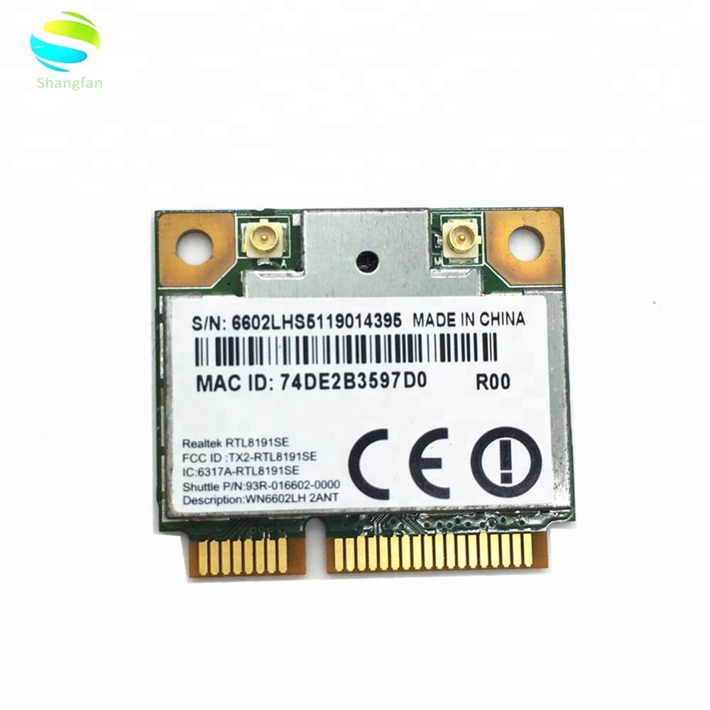 Wireless Adapter Card for Realtek Ralink RTL8191 RTL8191SE Wifi 150Mbps  MINI PCI-E for laptop PCI Express 802 11 b/g/n 150M