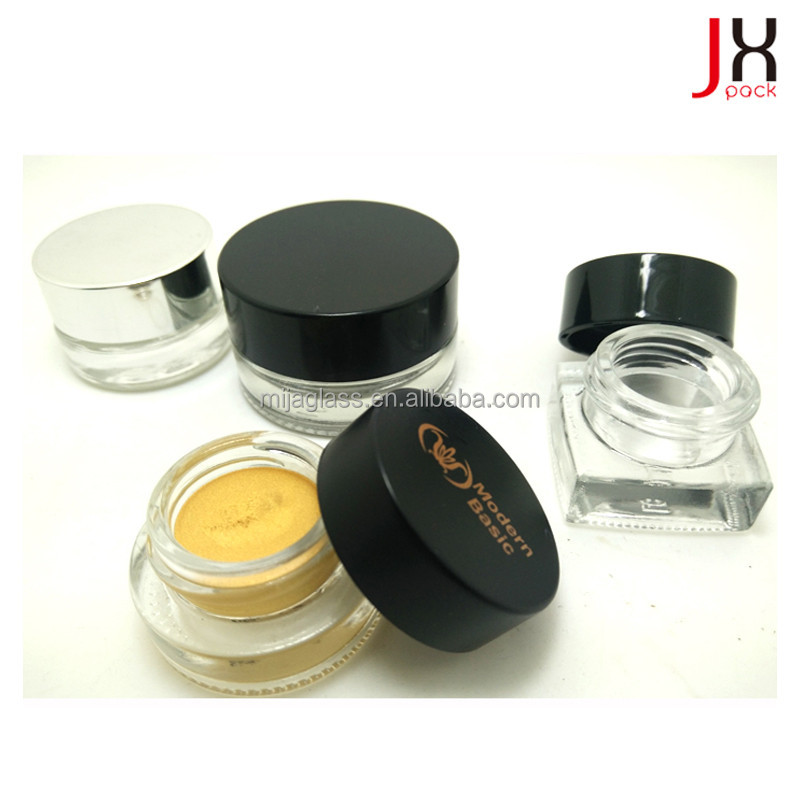 Cosmetic Cream Jar/Glass Packaging Empty Square Face Cream Container
