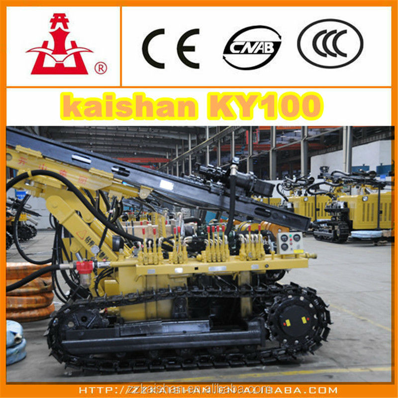 Mining core drilling machinKY100/rock drilling equipment
