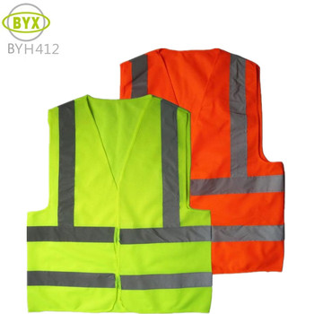 High visibility more colors safety vest