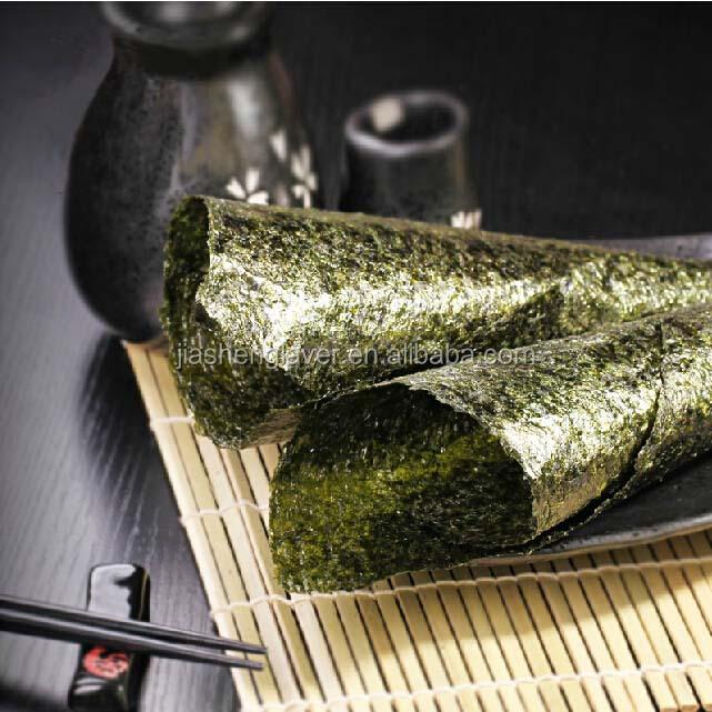 Full sheets japanese food roasted seaweed nori for sushi