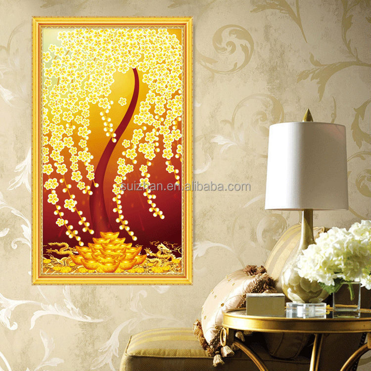New Products Chinese <strong>Art</strong> And Crafts 5D Diamond Painting Autumn
