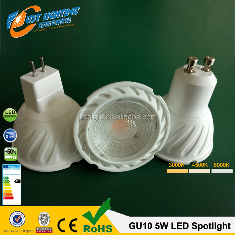 Ra80 High Power GU10 LED Spot Light 5W7W9W GU10 COB LED <strong>Spotlight</strong>