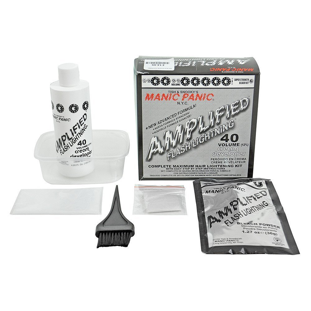 Buy Manic Panic Flash Lightning Hair Bleach Kit 40 Volume In Cheap