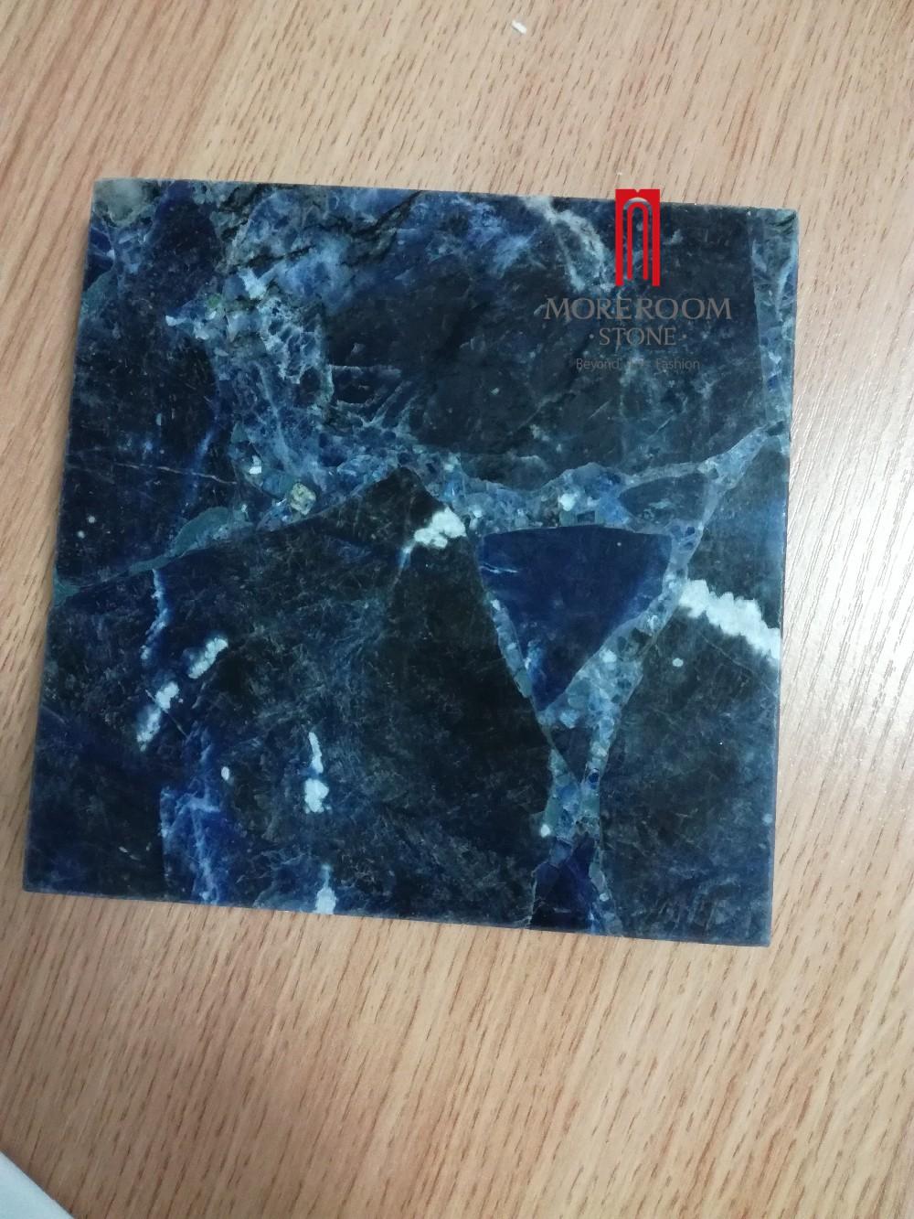 Luxury Semiprecious Blue Onyx Stone Tile And Slab - Buy Blue Onyx ...