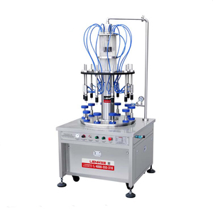 Chinese factory price gold supplier automatic small glass bottle perfume 10ml -100ml filling crimping machine
