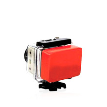New Gopro Hero 4 Accessories Buoy Float Buoyancy Anti-settling Sponge For Go Pro SJCAM SOOCOO Xiaomi Yi Series Action Camera