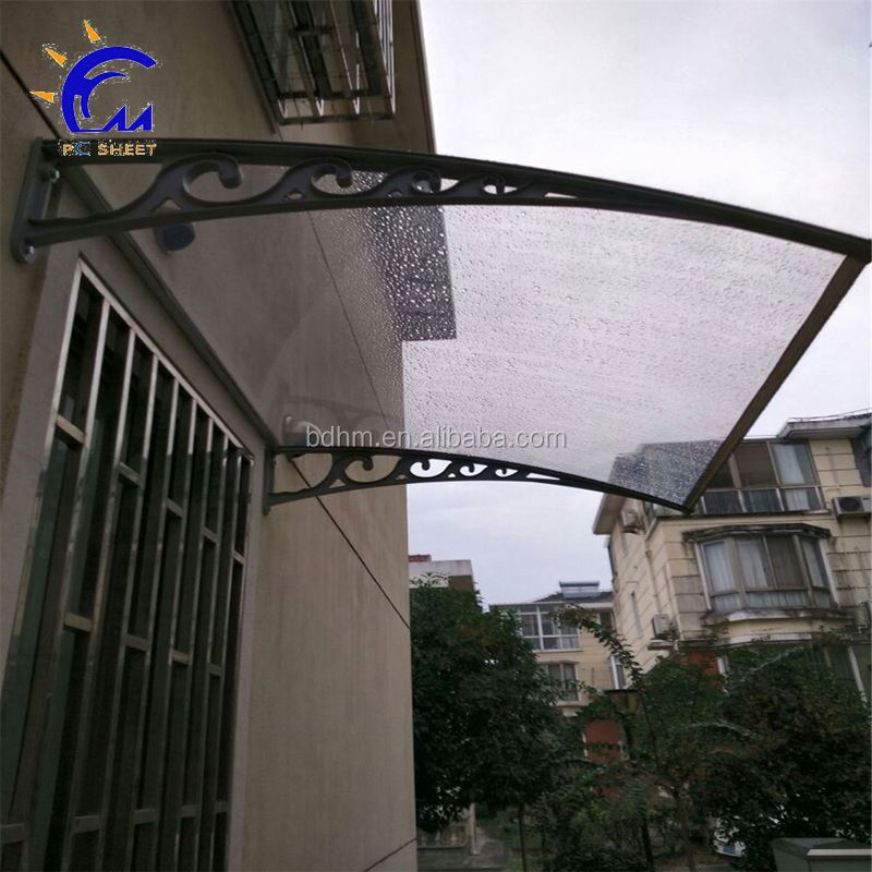Window Retractable Awning Canopy Rain Cover for Balcony