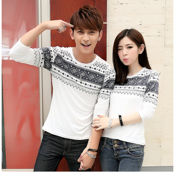 Wholesale Clothing! 2015 New Fashion T Shirt For Couple Sweet T ...