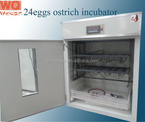 2014 best selling 24 egg ostrich incubator, emu egg incubator thermostat for sale for 24 eggs