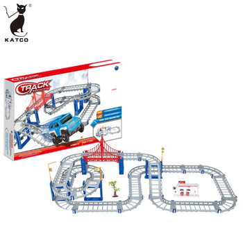 2019 Newest Hotsale Factory Supply Railcar Series Toy 73 PCS Electric Race Track