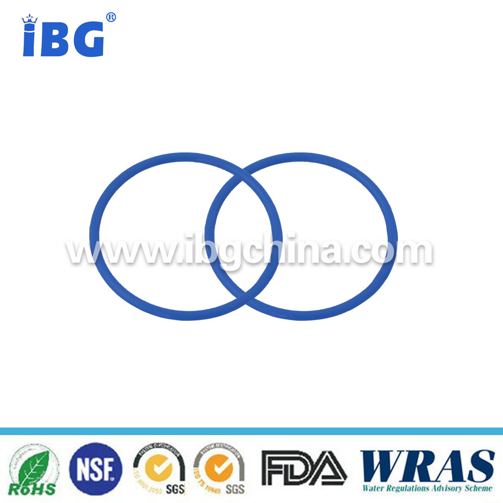 high temp resistance O Shape section rubber silicone ring