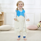 Blue and white cheap baby sleeping bag of kids clothes sets