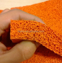 Open Cell Silicone Sponge / Rubber Foam Sheet for Ironing Table