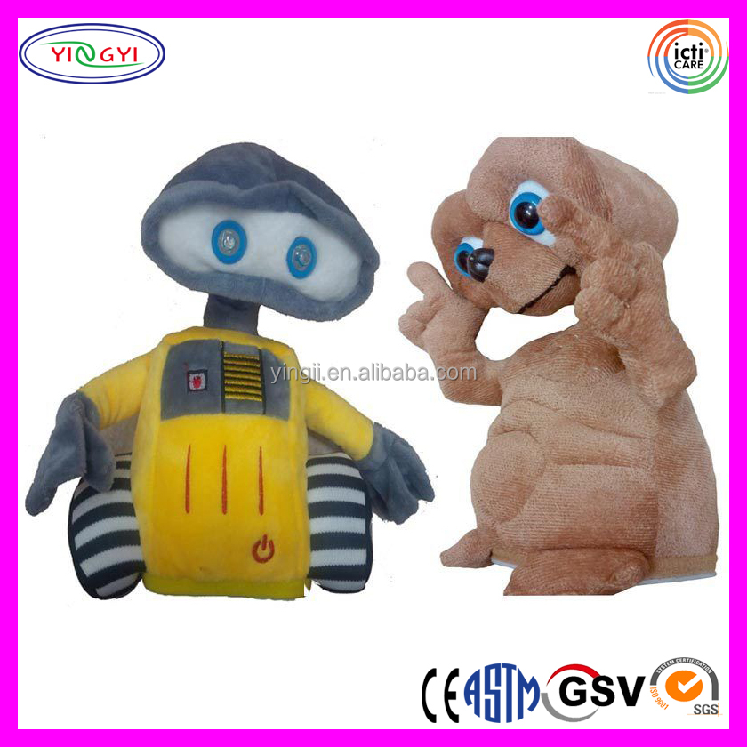 A806 Novelty Singing and Dancing Animals Electric Stuffed Plush Toy Singing Doll