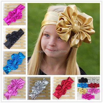 Baby Head Wrap Bow Top Knot Big Bow Headwrap Baby Headband Floppy Bow  Headband Big Bow b00185342e2