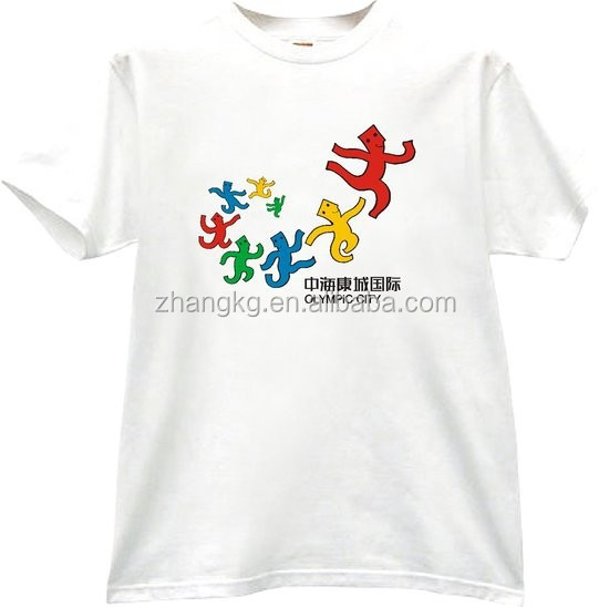TOP SALE ! 120g 100 polyester t-shirt for activities made in KaiGong Clothing Factory