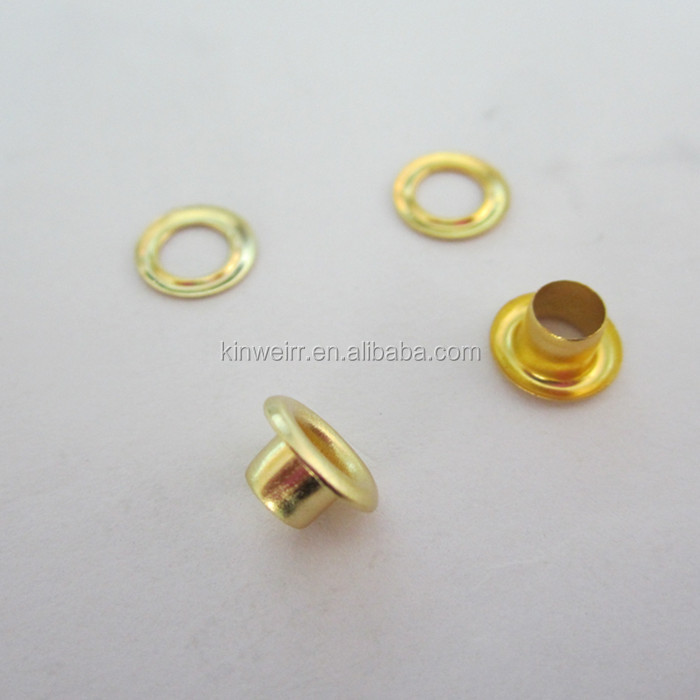 Fashion leather metal decorative eyelets for wholesale