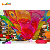 factory direct sale kids climbing playground crocheted net playground