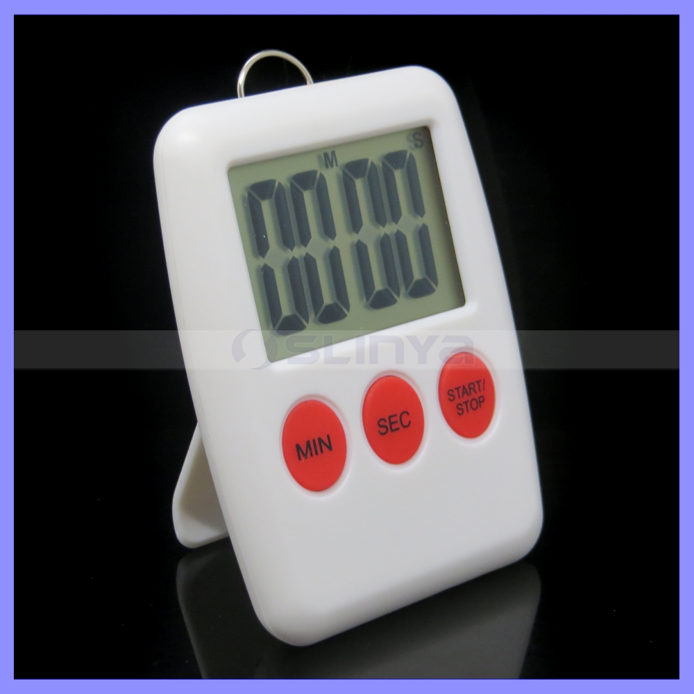 4 Digit 1.7 Inch LCD Screen Electronic Cooking Afternoon Tea Countdown Timer