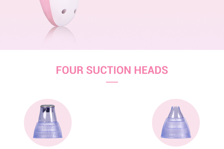 Private Label Beauty Device Face Pore Cleaner Comedone Cleansing Vacuum For Nose Face