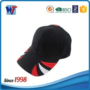 Free shipping custom men embroidered design sports hats baseball caps