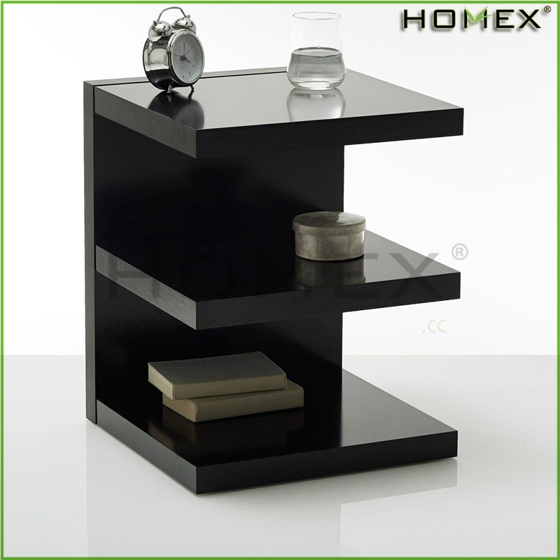 Bedside E Shape Side Accent Table/Homex_BSCI