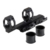 25mm-30mm Dual Ring Quick Detach Cantilever Scope Ring Mount 20mm Rail Auto Lock