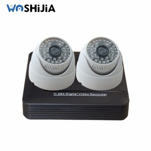BEST-SELLING 960P P2P Network home alarm security systems 2ch/4channel standalone cctv camera dvr kit