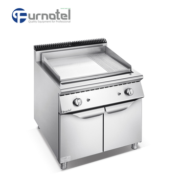 Commercial Restaurant Using Heavy Duty Cast Iron Flat /Grooved 900 Series Gas Griddle Equipment