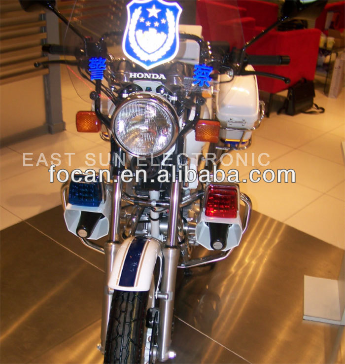 police motorcycle equipment with motorcycle warning light,switch,microphone