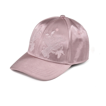 d068ed816cd Wholesale blank fashion trend stylish pink satin baseball caps for women