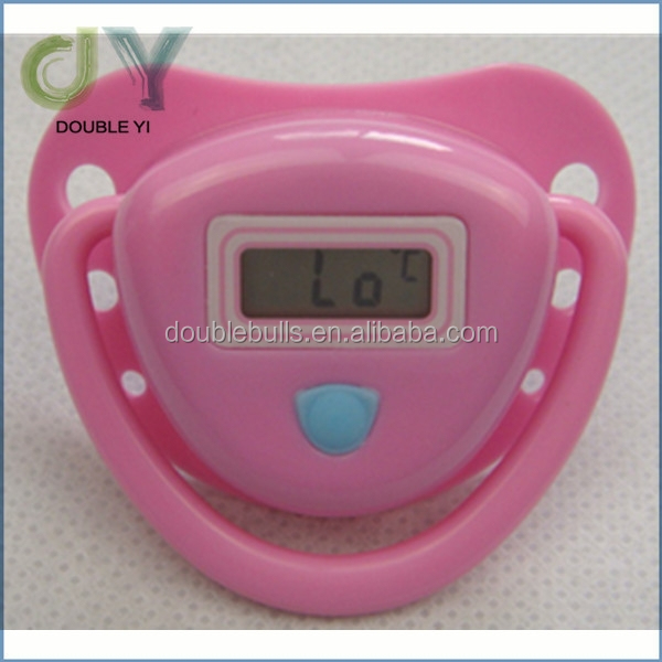 Custom baby digital thermometer / waterproof digital Baby Nipple / pacifier thermometer