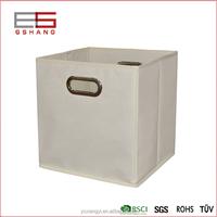 Walmart tissu pliable cube de rangement panier bin cube de stockage bacs bo tes caisses de - Cube rangement tissu ...