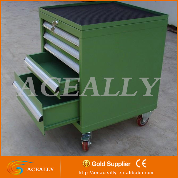 f31de3f2a22 Multi Drawer Metal Workshop Tool Cabinet Rolling Steel Box On Wheels