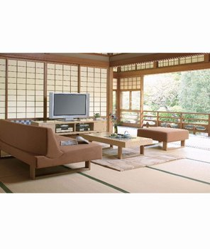 KOZAI Japanese Style Couch Sofa, Hotel Chairs, Living Chairs