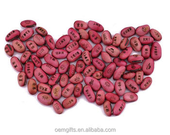 Diy Magic Bean With Wishes For Bonsai Green Office And Home Decoration -  Buy Make Magic Beans,Magic Message Bean,White Beans Product on Alibaba com
